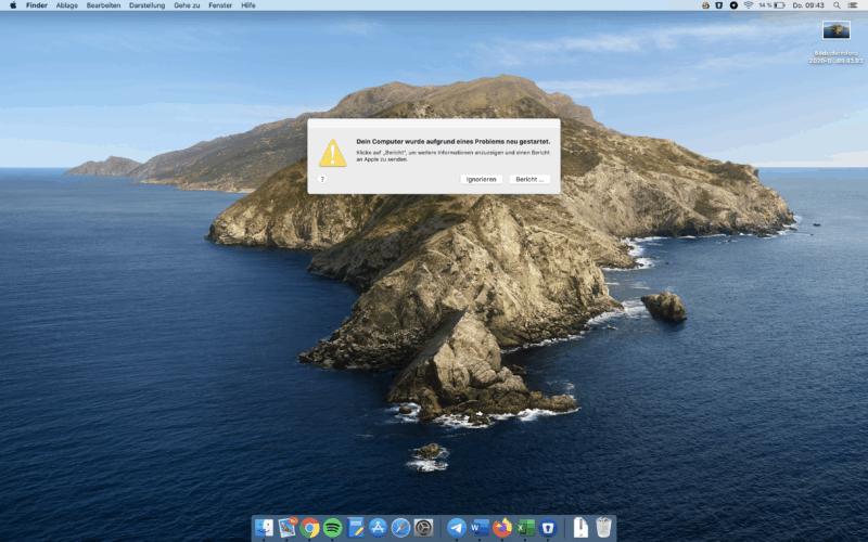 Dein Computer Wurde Aufgrund Eines Problems Neu Gestartet