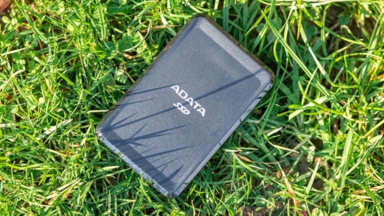 ADATAs günstige externe SSD im Test, die ADATA SC685