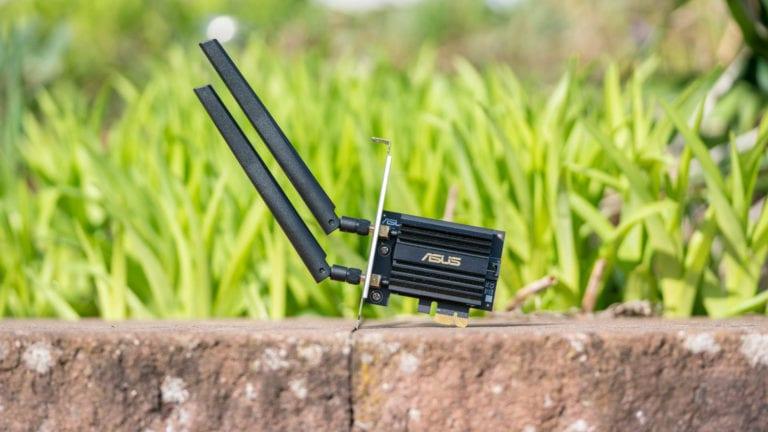 Die ASUS PCE-AX58BT im Test