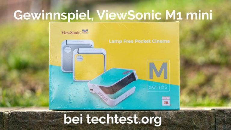 Der ViewSonic M1 mini Beamer zu gewinnen!