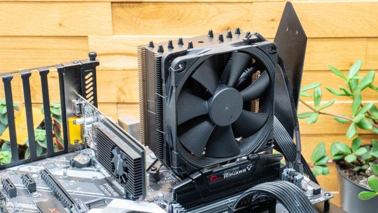 Der Noctua NH-U12S chromax.black im Test auf AMD Ryzen