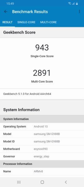 Screenshot 20200311 154919 Geekbench 5