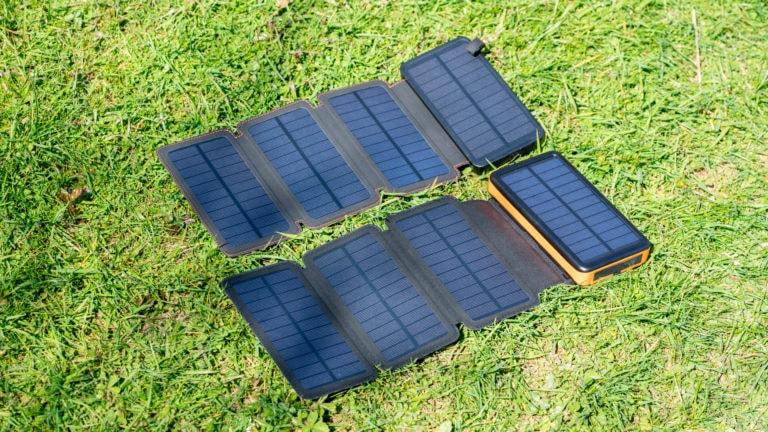 Test, ausklappbare Solar-Powerbanks von X-DRAGON und Hiluckey, wirklich brauchbar?