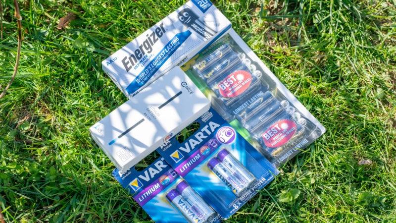 4x Lithium Aa Batterien Test Vergleich 2