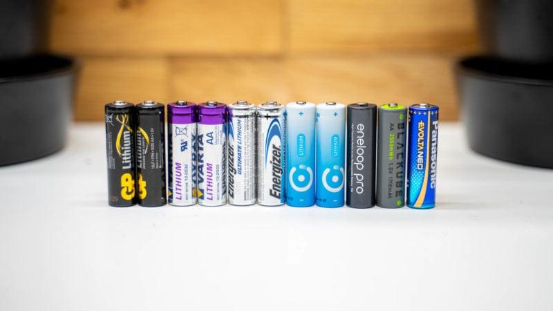 4x Lithium Aa Batterien Test Vergleich 5