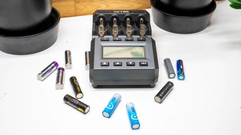 4x Lithium Aa Batterien Test Vergleich 6