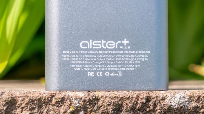 Alsterplus Usb C 100w Powerbank Im Test 10
