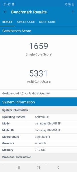Screenshot 20200409 214710 Geekbench 4