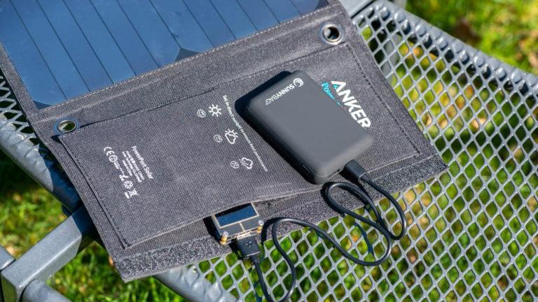 Günstige und gute Solar-Puffer-Powerbank, die SunnyBAG POWERBANK 10.000mAh im Test