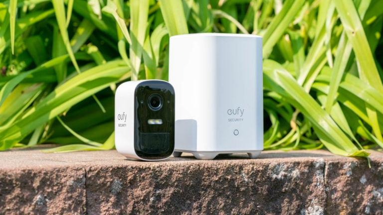 eufy Security by Anker, eufyCam 2C im Test, kabellose Überwachungskamera mit Scheinwerfer!