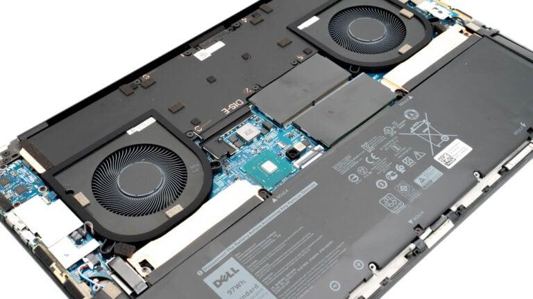 Anleitung Dell XPS 17 9700 öffnen, aufrüsten und Windows neuinstallieren