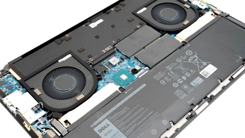 Anleitung Dell Xps 17 9700 öffnen Inside Im Inneren 1