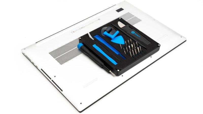 Anleitung Dell Xps 17 9700 öffnen Inside Im Inneren 3