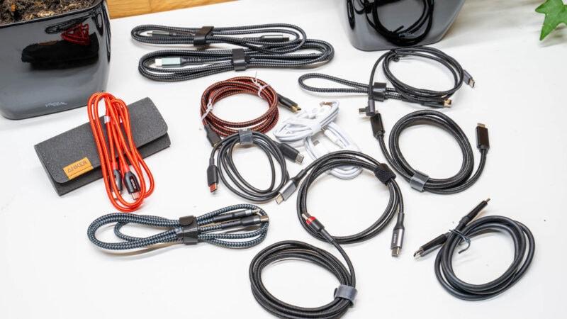 11x Usb C Auf Usb C Kabel Im Vergleich 3
