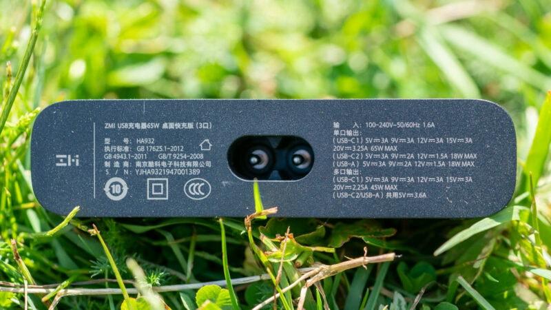 Das Zmi Ha932 65w Ladegerät Im Test 8