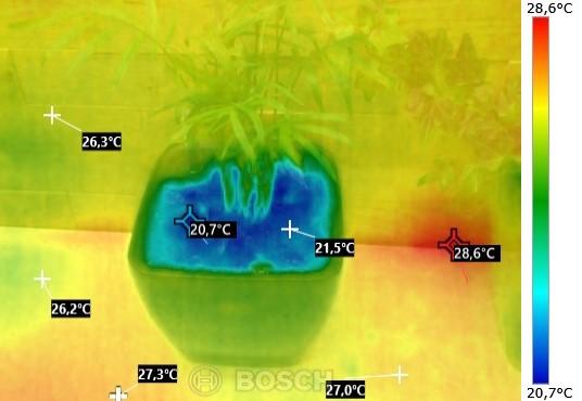 Temperatur Nasse Erde