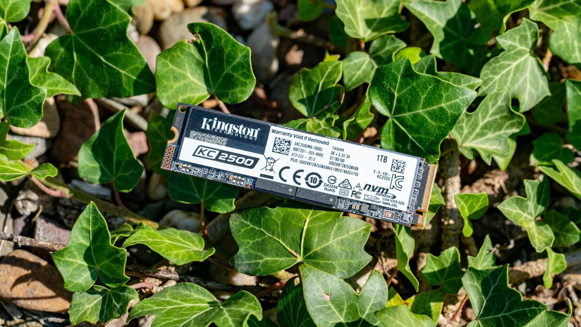 Die Kingston KC2500 SSD im Test