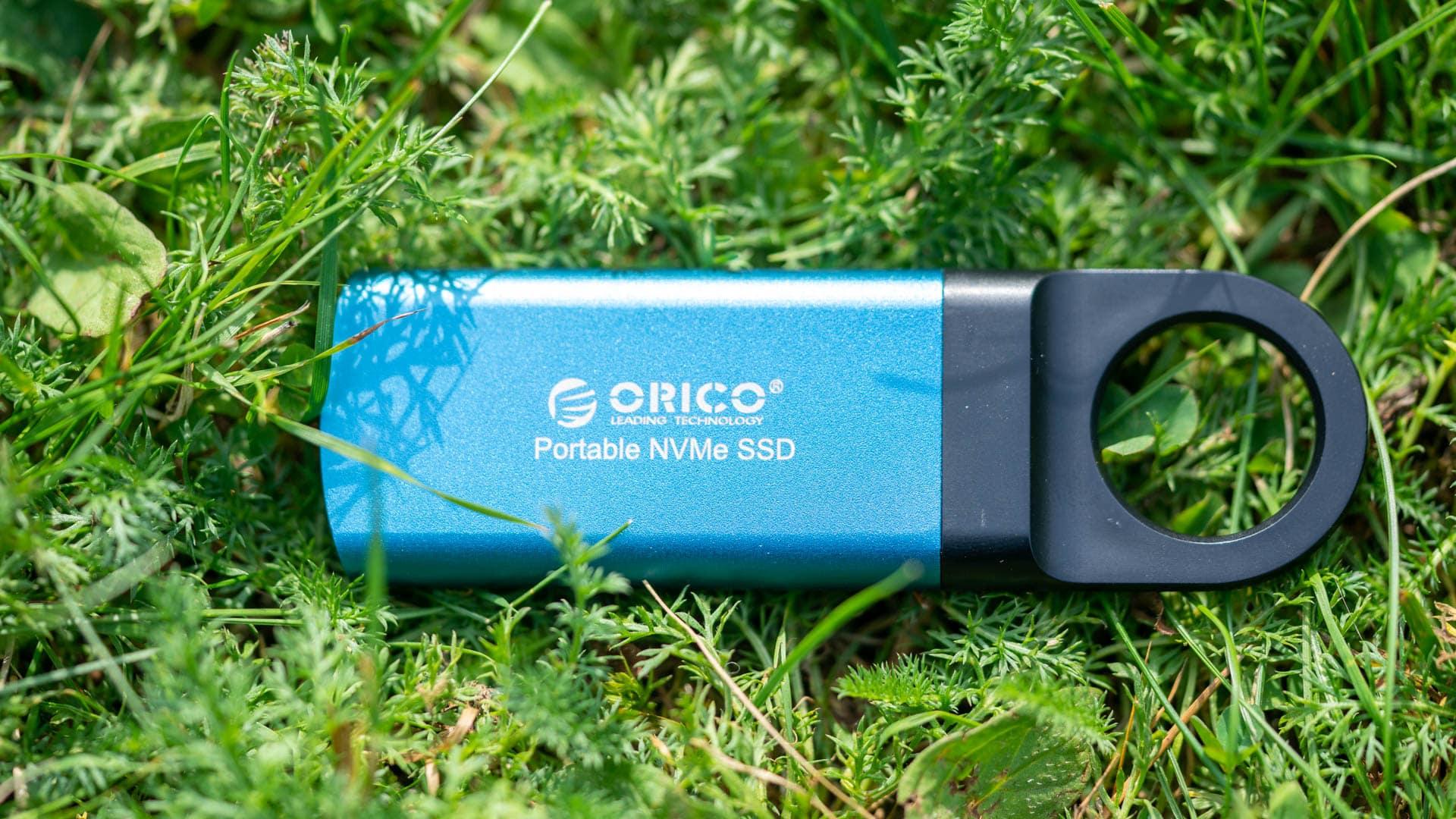 Die Orico GV100 externe SSD im Test