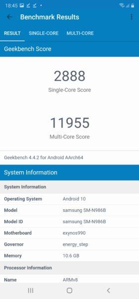 Screenshot 20200822 184559 Geekbench 4