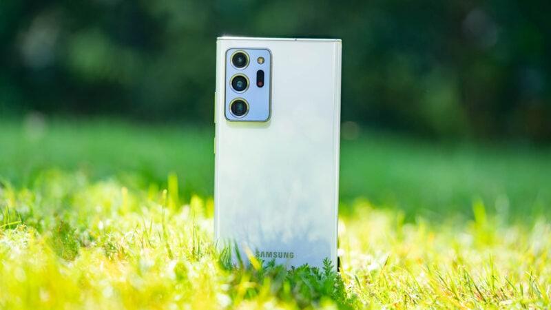 Test Samsung Galaxy Note 20 Ultra 9