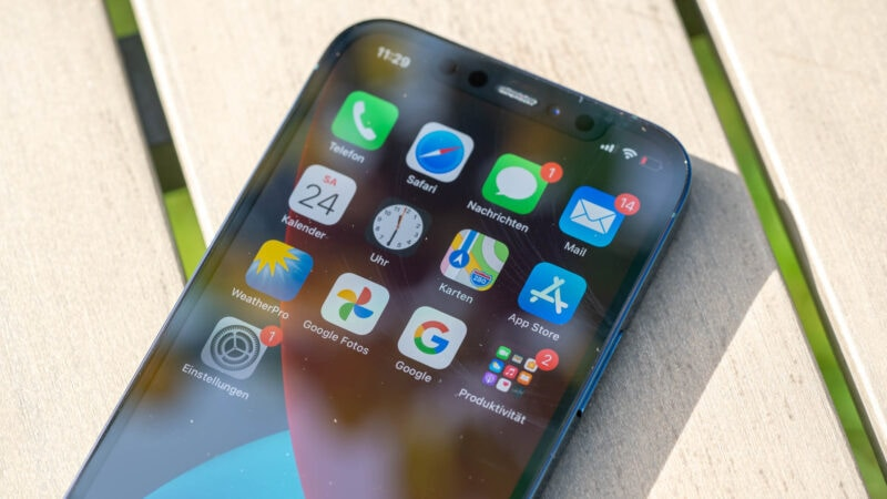 Apple Iphone 12 Pro Im Test 13