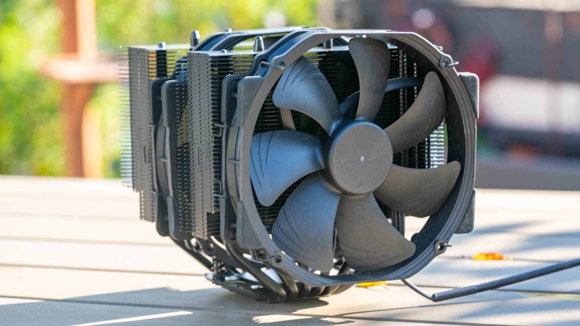 Der Noctua NH-D15 chromax.black im Test, der vermutlich beste Luftkühler auf dem Markt!