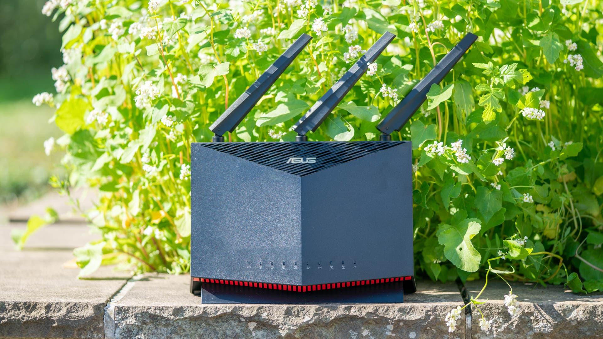 Test: ASUS RT-AX86U, WLAN 6 und 2,5Gbit LAN in Perfektion