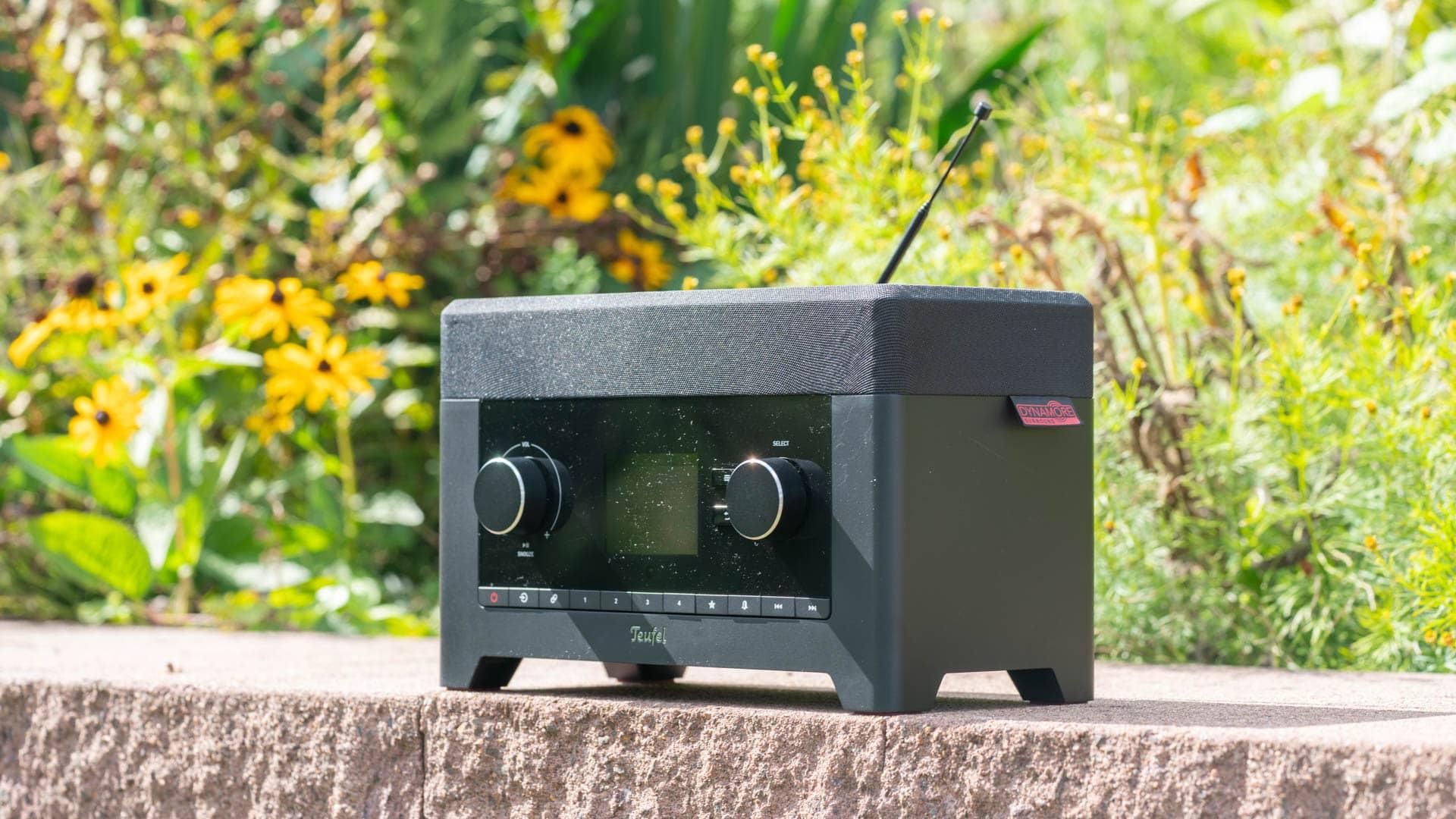 Das beste Digital/Web-Radio im Jahr 2020, das Teufel 3SIXTY im Test