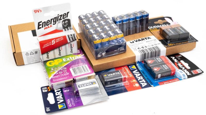 10x 9v Block Batterien Im Vergleich, Wer Ist Besser Varta, Duracell, Energizer 1