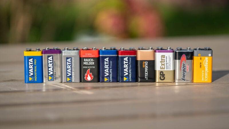 10x 9v Block Batterien Im Vergleich, Wer Ist Besser Varta, Duracell, Energizer 5