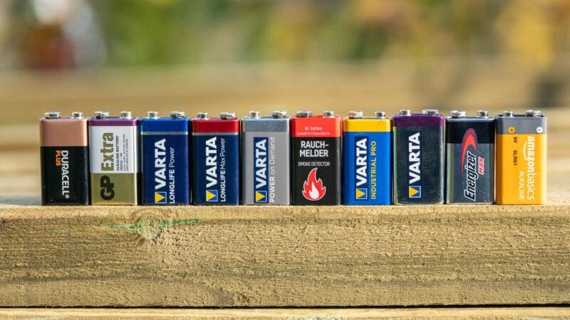10x 9v Block Batterien Im Vergleich, Wer Ist Besser Varta, Duracell, Energizer 7