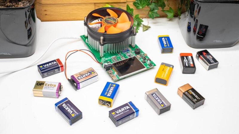 10x 9v Block Batterien Im Vergleich, Wer Ist Besser Varta, Duracell, Energizer 9