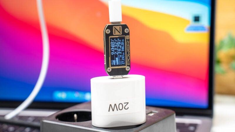 Analyse, Aufladen Des Neue Macbook Pro 13 M1, Welche Powerbank Und Welche Ladegeräte Eignen Sich 10