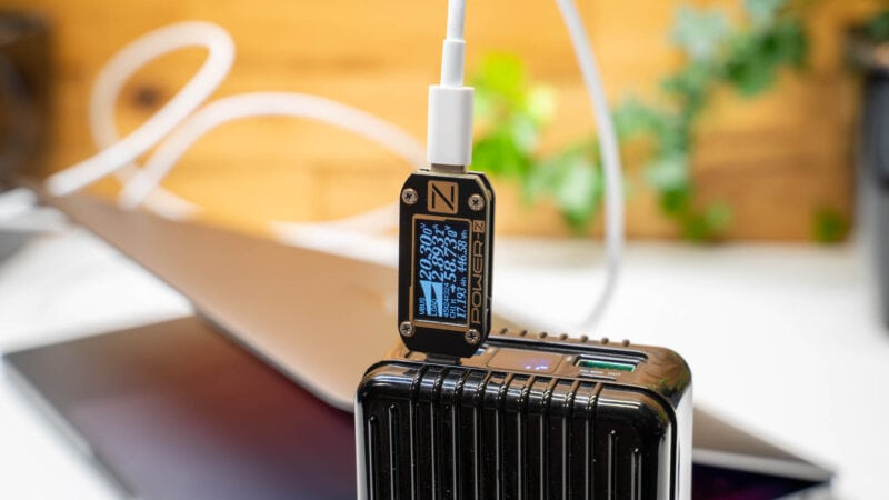 Analyse, Aufladen Des Neue Macbook Pro 13 M1, Welche Powerbank Und Welche Ladegeräte Eignen Sich 5