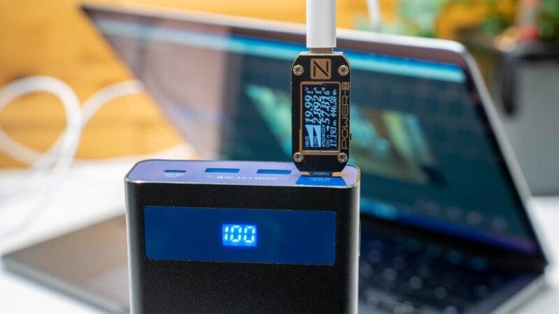 Analyse, Aufladen Des Neue Macbook Pro 13 M1, Welche Powerbank Und Welche Ladegeräte Eignen Sich 6