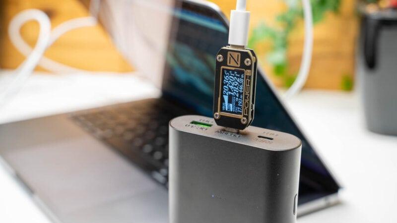 Analyse, Aufladen Des Neue Macbook Pro 13 M1, Welche Powerbank Und Welche Ladegeräte Eignen Sich 7