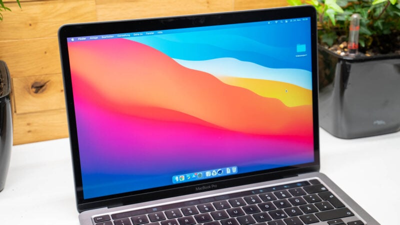 Apple Macbook Pro 13 Mit Apple M1 Cpu Im Test 16