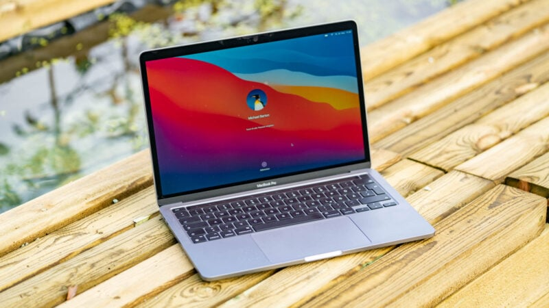 Apple Macbook Pro 13 Mit Apple M1 Cpu Im Test 8