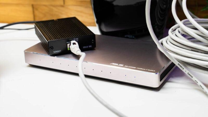 Cat 5e Lan Kabel Und 10 Gbit Lan 2