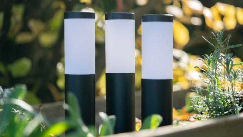 Innr Smart Outdoor Pedestal Light Colour Im Test 6