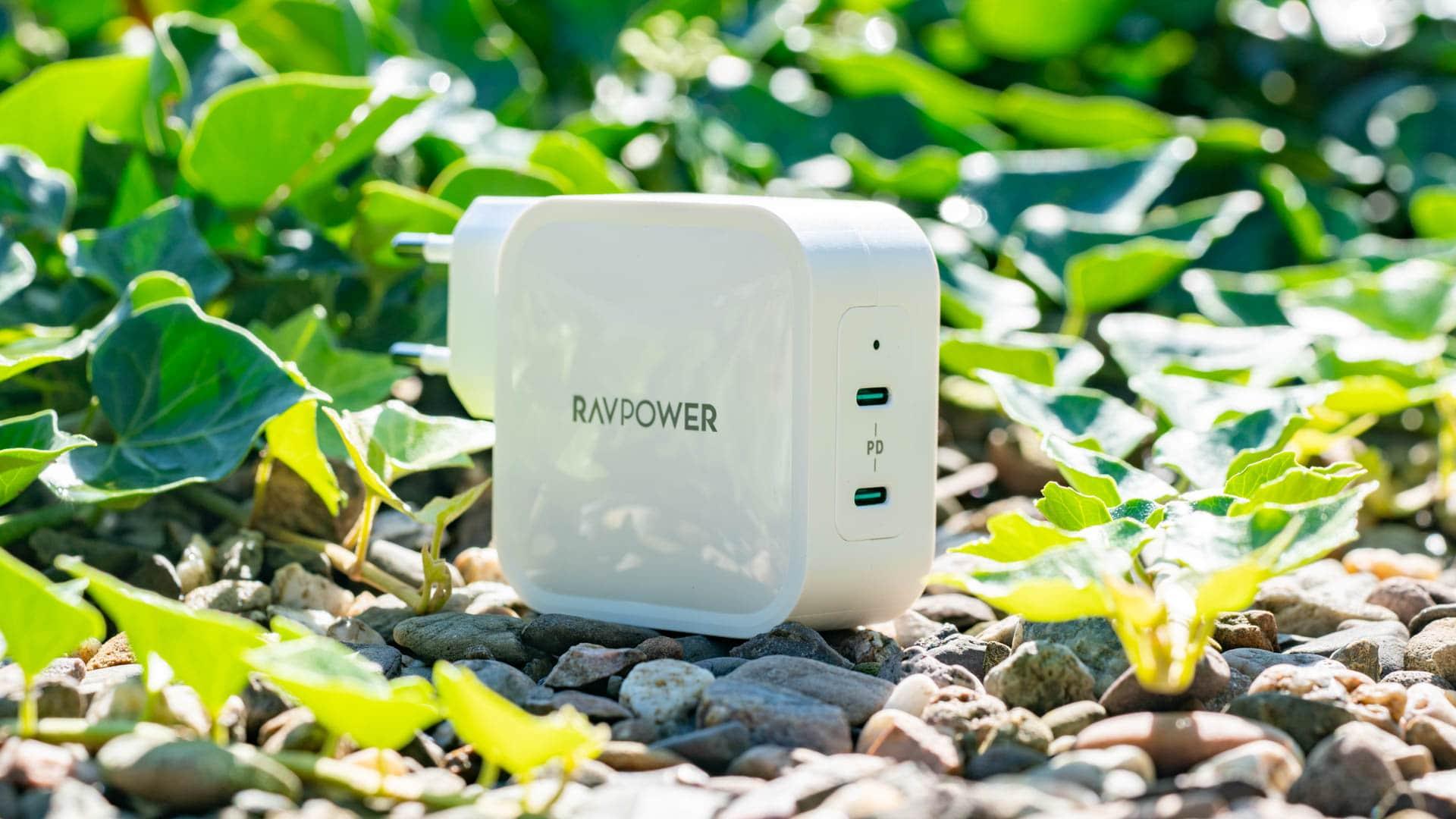 Das RAVPower RP-PC128 PD Pioneer 90W im Test, 2x USB C + GaN!
