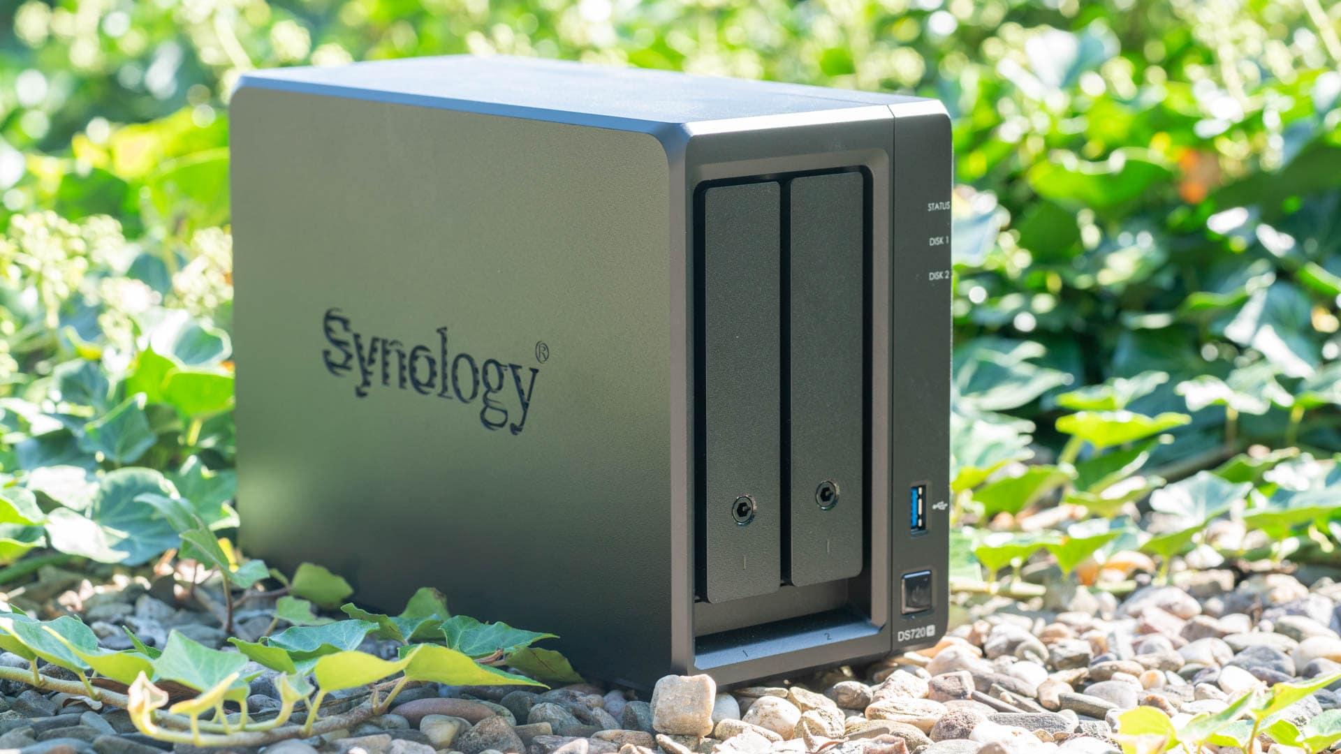 Die Synology DiskStation DS720+ im Test