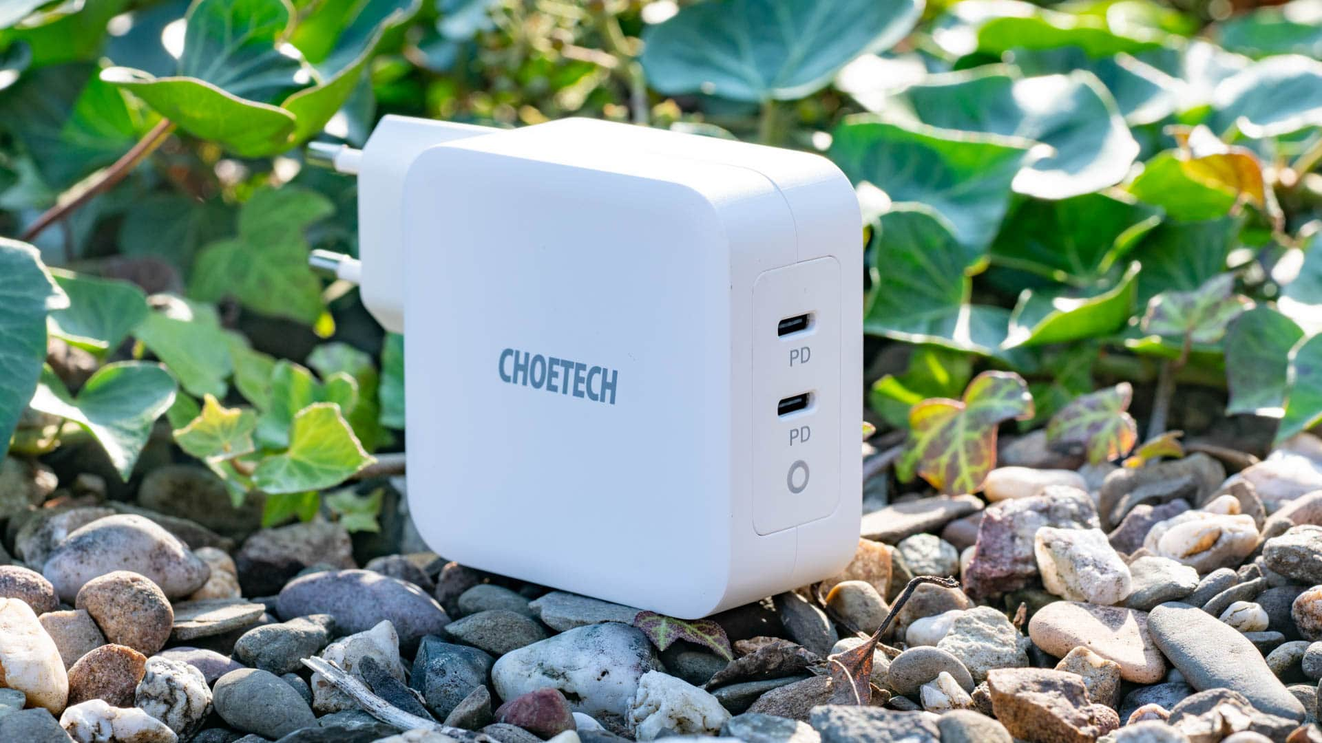 Der CHOETECH PD6008 100W 2-Port GaN Wall Charger im Test