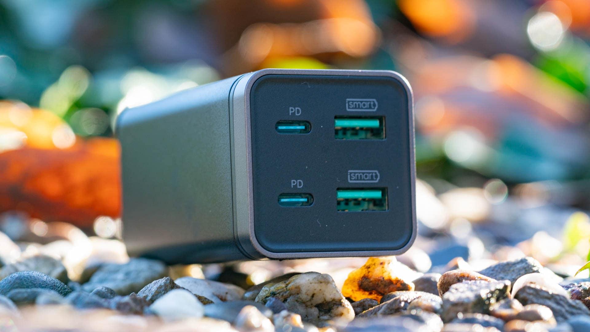 Empfehlung: Das RAVPower RP-PC136 PD Pioneer 65W 4 Port Ladegerät im Test