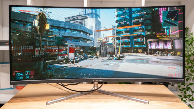 Test: LC-Power LC-M34-UWQHD-100-C-V2, 100Hz +21:9 + 99%sRGB für 400€?