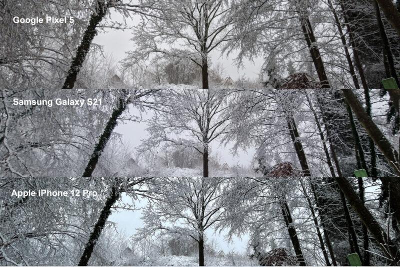 Vergleichsbilder Weitwinkel