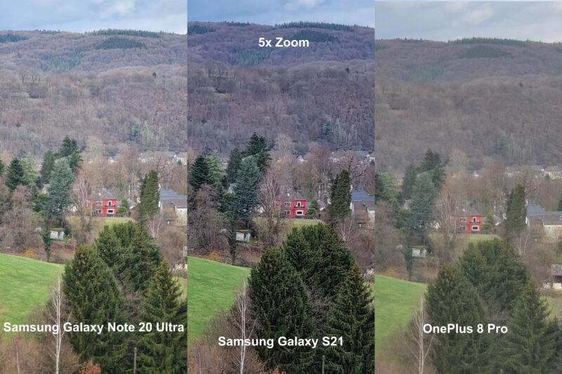 Vergleichsbilder Zoom B