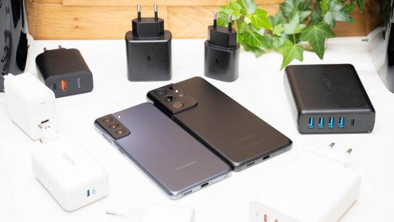 Welches Ladegerät für das Samsung Galaxy S21 (Ultra)? Welche Ladestandards werden unterstützt?