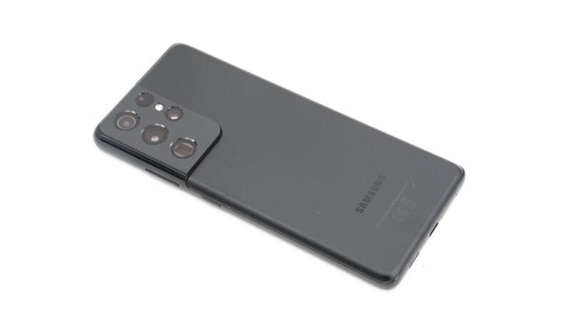 Samsung Galaxy S21 Ultra Test 1