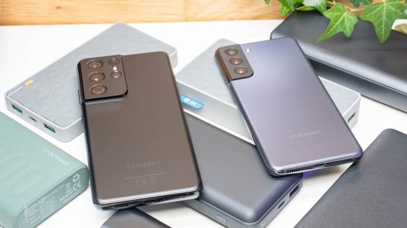 Samsung Galaxy S21 Ideale Powerbank Test 4